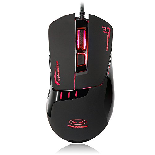MageGee Multi Color Ergonomic Gaming Mouse