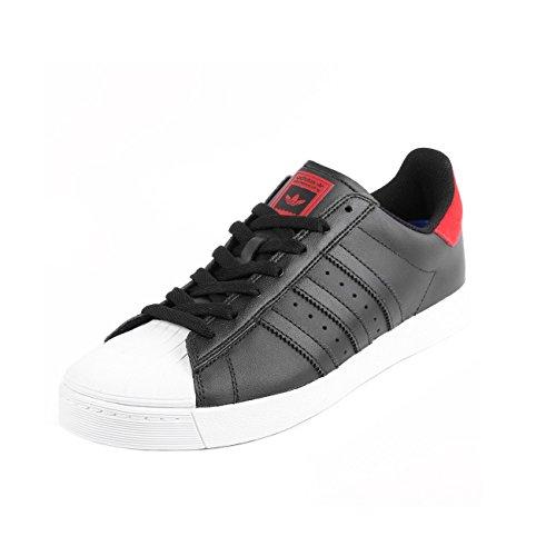 adidas Superstar White Noir ADV Black Scarlet Vulc ppRxwqd0r