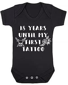 Chaleco para bebé de 18 años hasta mi primer tatuaje, color negro ...