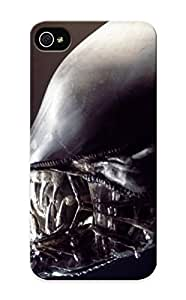 For iPhone iphone 5s Protective Case, High Quality For iPhone iphone 5s Movies Xenomorph Creatures Teeth Aliens Movie Alien Giger Skin Case Cover