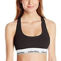 Calvin Klein Women's Modern Cotton Bralette (Black)