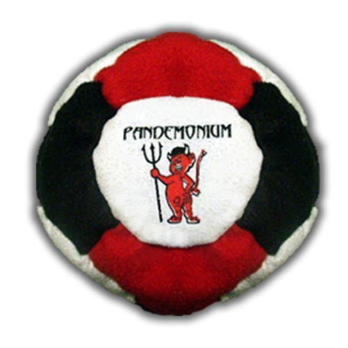 Pandemonium Footbag Armageddon Footbag 14 Panels Hacky Sack Pro Bag Sand & Iron Weighted At 2.1 Onces Sandmaster Upgrade by Pandemonium Footbag