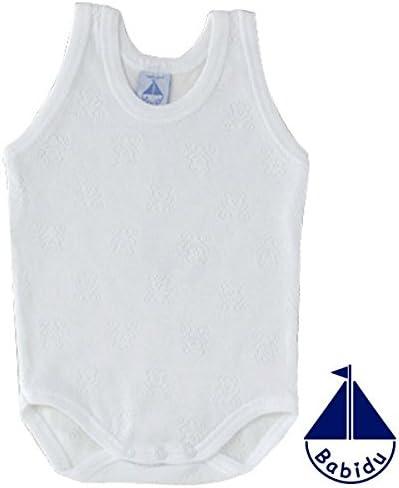 BODY BABIDU DE TIRANTES CALADO BLANCO 3 MESES: Amazon.es: Bebé