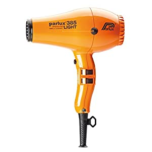 Parlux 385 Powerlight Professional Ionic and Ceramic Hair Dryer, 2150 Watts (ORANGE)