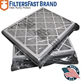 FiltersFast Compatible Replacement for Trane Perfect Fit BAYFTAH26M 21' x 26' x 5' (Actual Size: 19 7/8' x 25 1/4' x 4 7/8') 2-Pack MERV 11