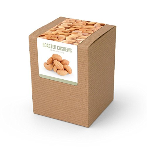 Cashews, Roasted & Salted, Brown Box 48ct/4oz by In-Room Plus, Inc.