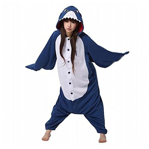 FashionFits-Monopezzo-Donna-Shark-Without-Shoes-Small