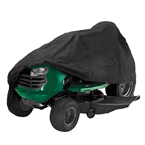 Cheesea 54 Inch Garden Yard Riding Mower Lawn Tractor Cover Waterproof Black greatest Prices