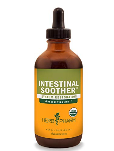 (Herb Pharm Intestinal Soother Liquid Herbal Formula with Turmeric Extract - 4)