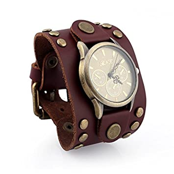 Relojes Hombre, Europeos Y Americanos, Pulsera De Cuero Retro Relojes, Relojes Hombre,