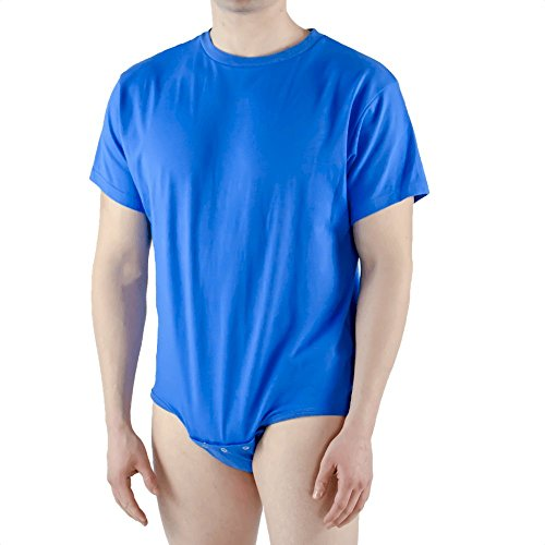 Amazon.com: Snappies playera, S, Azul: Clothing