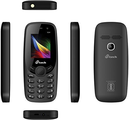 M Tech G24 Dual Sim Feature Phone  Black