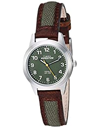 Timex Expedition Metal Field - Mini reloj para mujer, Marrón/Verde