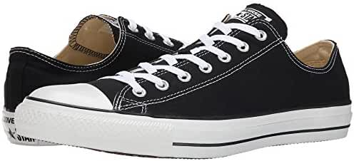 Converse Unisex Chuck Taylor All Star Ox Low Top Black/white Sneakers - 7 Men 9 Women