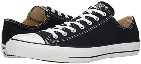 Converse Unisex Chuck Taylor All Star Ox Low Top Black/white Sneakers - 7 Men 9 Women
