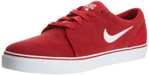 Nike Satire Mens Size 11 Red Suede Sneakers Shoes