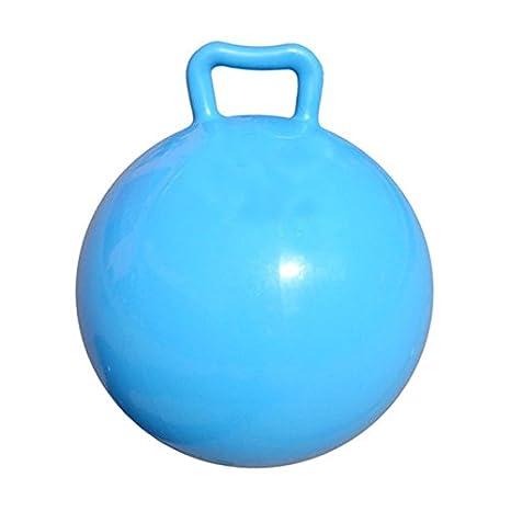 LEORX Sentarse y salto Salto salto de bola con mango inflable de ...