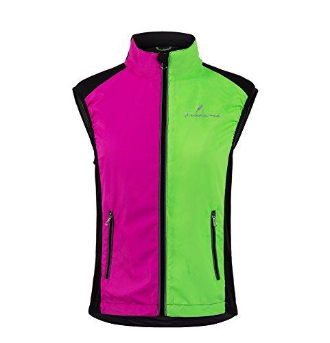 Prudance Females Hi-Visible Breathable Safety Reflective Sport Vest