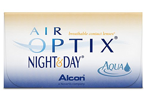 Alcon Ciba Vision Air Optix Night & Day Aqua Monatslinsen weich, 6 Stück / BC 8.6 mm / DIA 13.8 / -1.75 Dioptrien