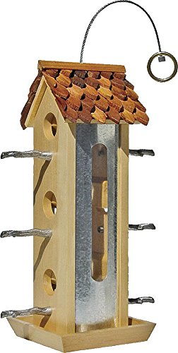 Tin Jay Bird Feeder [Set of 2]