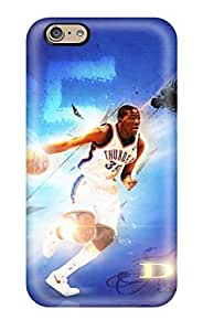 Best 8094379K628193010 oklahoma city thunder basketball nba NBA Sports & Colleges colorful iPhone 6 cases