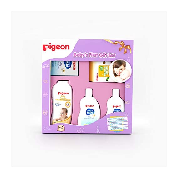Pigeon Baby's First Gift Set