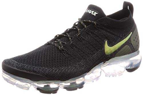 Mens Running Shoes Uk - Nike Air Vapormax Flyknit 2 Mens Running Trainers 942842 Sneakers Shoes (UK 8.5 US 9.5 EU 43, Black Multi Colour 015)