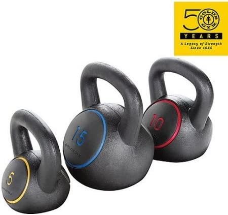 3 piece Kettlebell Kit by Gold s Gym , 17.15 x 10.26 x 12.24 Inches, WGGKBK13
