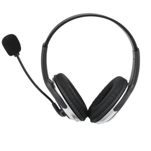 iMicro 100mW Maximum Power Leather Headset with Microphone SP-IM168MV by iMicro (Image #2)