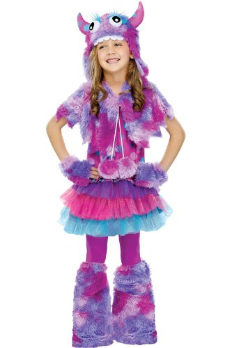 Big Girls' Polka Dot Monster Costume - -