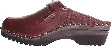 Clogs Donatello Clogs Bastad Troentorp Wooden Women's Black Cherry pt546qw16