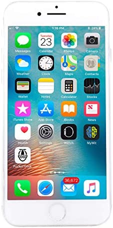 Apple iPhone 8 256GB Unlocked GSM Phone - Silver (Renewed)