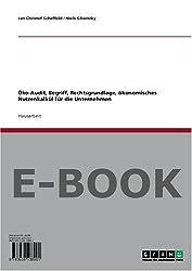 Öko-Audit, Begriff, Rechtsgrundlage, ökonomisches Nutzenkalkül für die Unternehmen