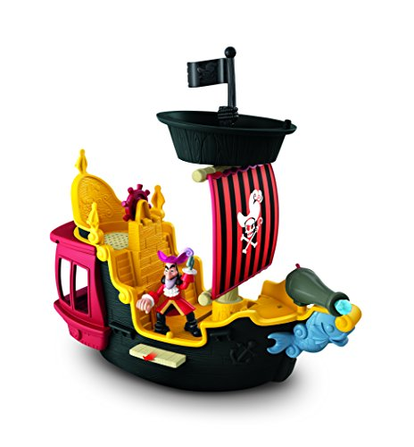 Fisher-Price Disney's Jake & The Never Land Pirates, Hook's Jolly Roger Pirate Ship -
