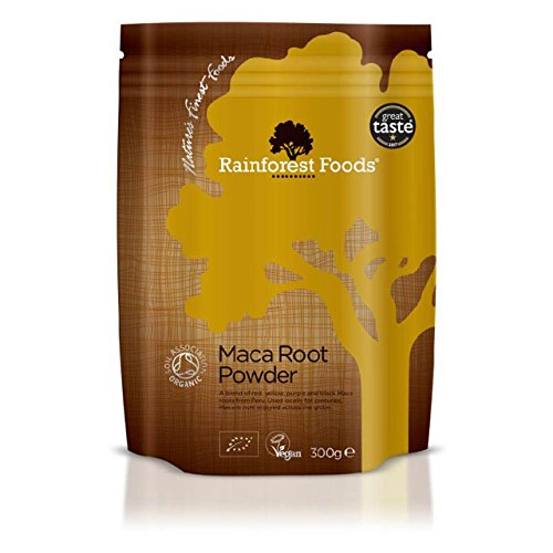Rainforest Foods Organic Maca 4 Root Powder ()
