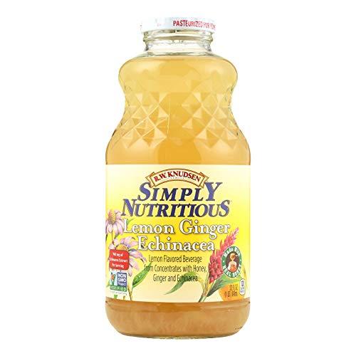 - RW Knudsen, Juice Simply Lemon Ginger, 32 Fl Oz