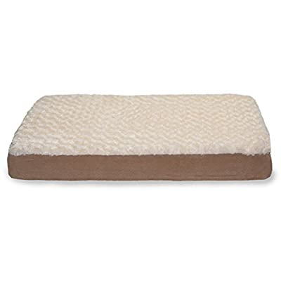 Furhaven Pet Ultra Plush Deluxe Orthopedic Mattress Pet Bed for Dogs or Cats