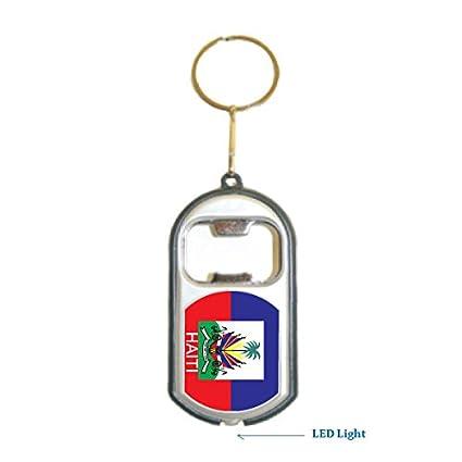 Amazon.com: Bandera de Haití 3 en 1 abrebotellas Luz LED ...