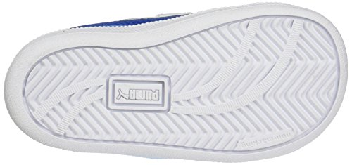 Puma Smash Fun L V Inf, Zapatillas Unisex Niños Blanco (White-Lapis Blue)