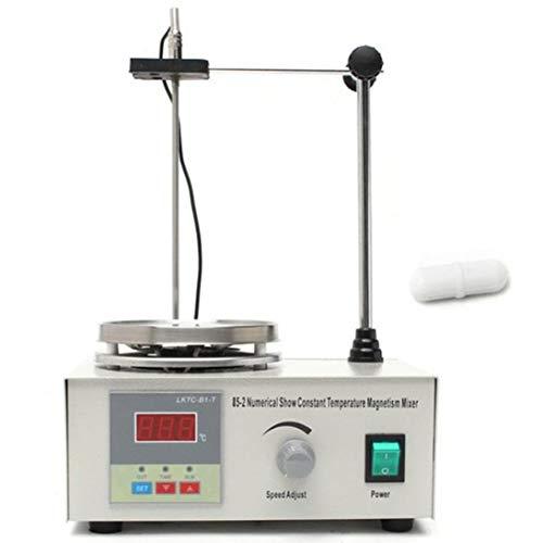 Baynne 85-2 Mezclador de Placa calefactora Agitador magnético con Placa calefactora Pantalla Digital Equipo de Laboratorio...