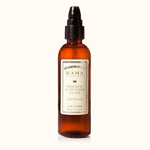 Kama Ayurveda - ORGANIC ALOE VERA JUICE ANTI ACNE 100ml By IndianMedicalStore (Juice Organics Acne)