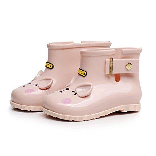 SYY 0-7 Jahre alt Kind Wasserdichte Gummistiefel Infant Baby Regen Stiefel  Kinder Kinder Regen