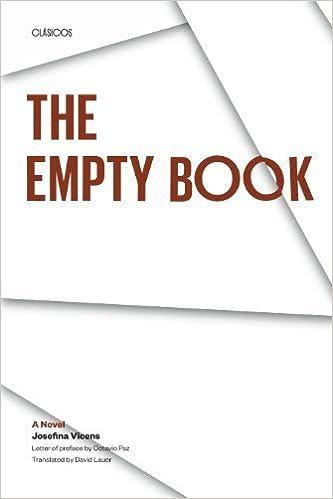 The Empty Book: A Novel (Texas Pan American Series) by Josefina Vicens  (1992-03-01): Amazon.com: Books