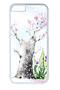 Beautiful Illustrations 2 Tree Slim Hard Cover for iPhone 6 Case (4.7 inch) PC White Cases
