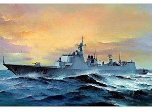 トランペッター 1/350 中国人民解放軍海軍 DDG-170 ランツォウ プラモデル