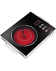 Portable Single Hot Plate,Electric Hotplate,High-Power Electric Ceramic Stove, Countertop Cooking Heater, Temperature Control,for Home, Camping Cooking