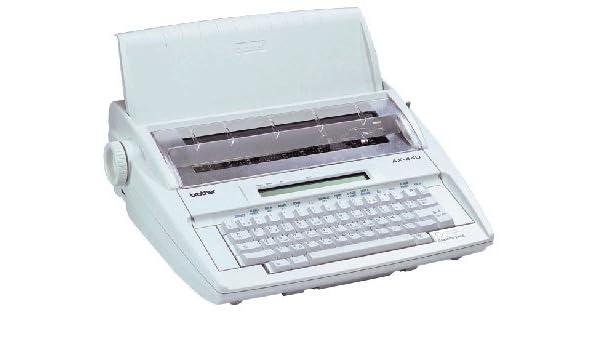 Brother AX 410 máquina à escribir electrónica, Simple y eficaz: Amazon.es: Informática
