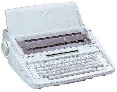 Brother AX 410 máquina à escribir electrónica, Simple y eficaz