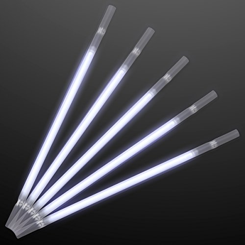 White Glow Stick Drinking Straws (Set of 25) for $<!--$19.99-->