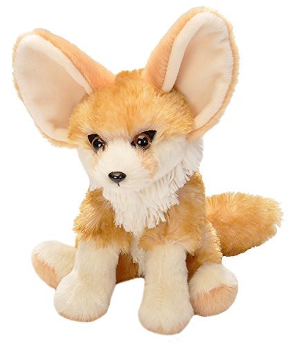 8 Inch Mini CK Fennec Fox Plush Stuffed Animal by Wild Republic